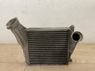 Радиатор интеркулера левый Porsche Cayenne V8 Turbo 2012
