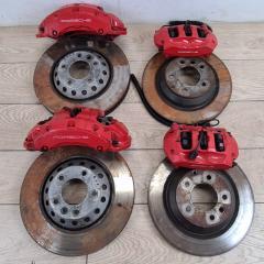 Комплект суппортов и тормозных дисков Porsche Cayenne V8 Turbo 2012