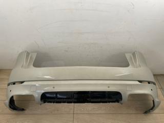 Бампер в сборе со спойлером задний Porsche Cayenne 3 GTS 2019-