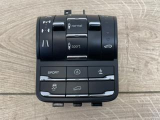 Блок кнопок пневмоподвески Porsche Cayenne V8 Turbo 2012