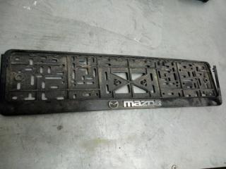 Запчасть номерная рамка Mazda CX-7 2008