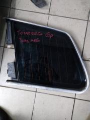 Запчасть форточка двери задняя левая Volkswagen Touareg