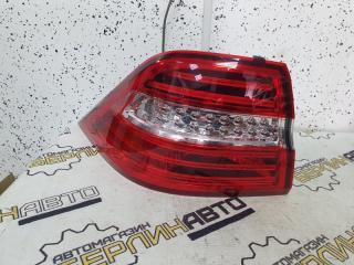 Запчасть фонарь задний левый Mercedes-Benz ML-Class 2013