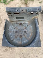 Запчасть ниша запасного колеса Opel Corsa D