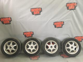 Комплект из 4-х Колесо R15 / 195 / 65 Dunlop ES203 5x114.3, 5x100 лит.  (б/у)