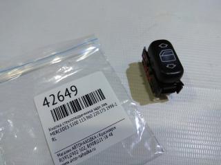 Кнопка стеклоподъемника задняя левая MERCEDES-BENZ S500 1998-2005