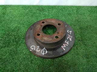 Запчасть диск тормозной передний SUZUKI MR WAGON 2001-2005