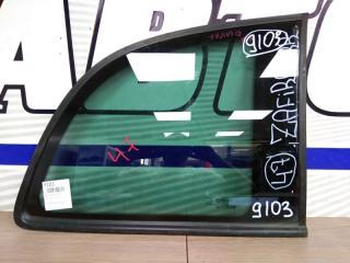 Запчасть стекло собачника заднее правое OPEL ZAFIRA