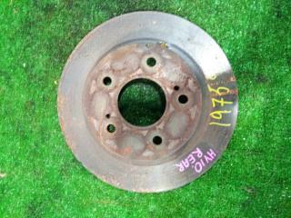 Запчасть диск тормозной задний NISSAN TINO 1998-2003