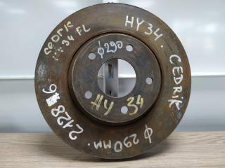 Запчасть диск тормозной передний NISSAN CEDRIC