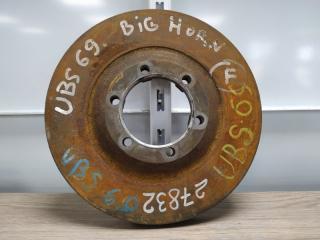 Запчасть диск тормозной передний ISUZU BIGHORN