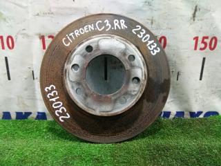 Запчасть диск тормозной задний CITROEN C3 2001-2010