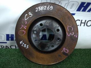 Запчасть диск тормозной передний CITROEN C3 2001-2010