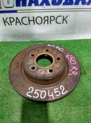 Запчасть диск тормозной задний VOLVO V50 2003-2007
