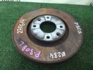 Запчасть диск тормозной передний PEUGEOT 308 2007-2011