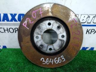 Запчасть диск тормозной передний PEUGEOT 207 2009-2012