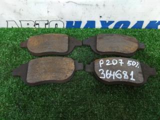 Колодки тормозные передние PEUGEOT 207 2009-2012
