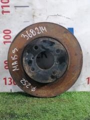 Запчасть диск тормозной передний SUZUKI SOLIO 2010-2015