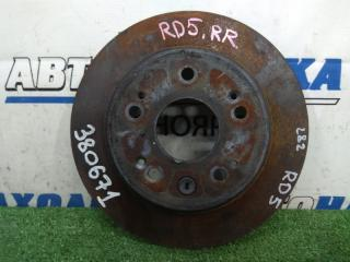 Запчасть диск тормозной задний HONDA CR-V 2001-2004