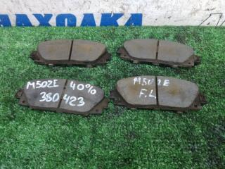 Колодки тормозные передние TOYOTA PASSO SETTE 2008-2012