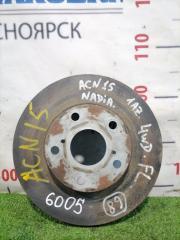 Запчасть диск тормозной TOYOTA NADIA 2001-2003