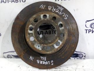 Запчасть диск тормозной задний Skoda Superb 2008-2015