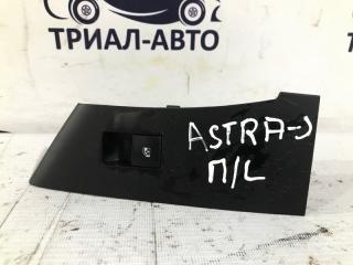 Запчасть кнопка стеклоподъемника одиночная передняя левая Opel Astra J