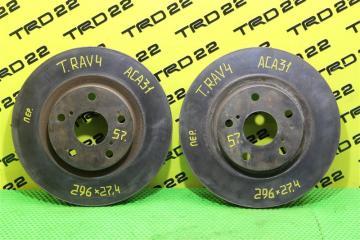 Запчасть тормозной диск передний Toyota RAV4
