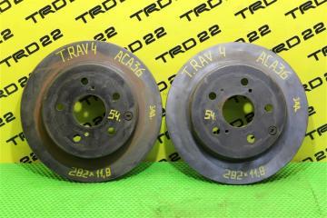 Запчасть тормозной диск задний Toyota RAV4