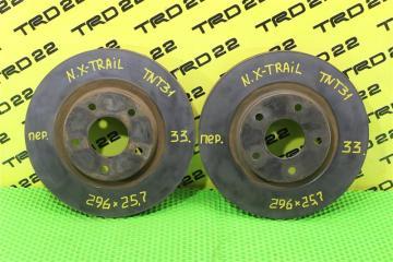 Запчасть тормозной диск передний Nissan X-Trail 2010