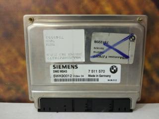 Блок управления двигателем BMW 330i 2001