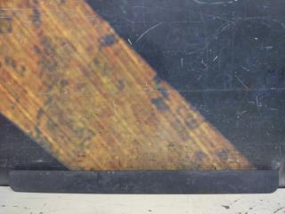 Запчасть накладка на порог левая Chevrolet TrailBlazer 2004