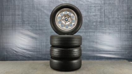 Комплект из 4-х Колесо R15 / 195 / 65 Bridgestone Ecopia EX20 5x120 ков. 42ET