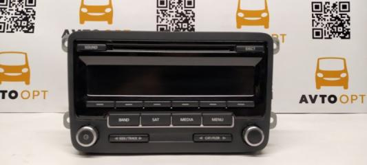 Запчасть магнитофон радио передний Volkswagen Jetta