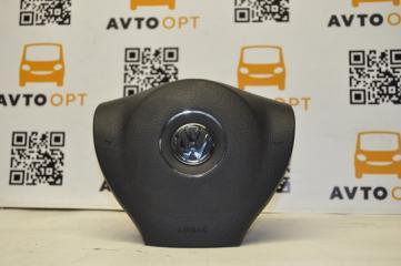 Подушка безопасности airbag в руль водительская Volkswagen Passat B7 2011