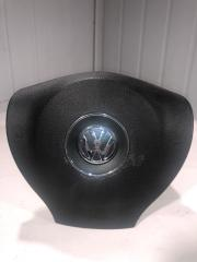 Подушка безопасности airbag в руль водительская передняя Volkswagen
