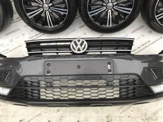 Бампер передний Volkswagen Tiguan 2017 год