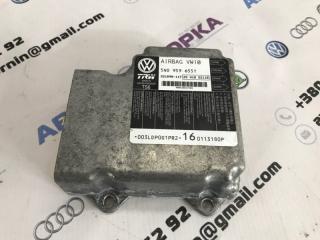 Блок управления airbag аирбег Volkswagen CC 2013 года