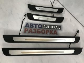 Накладки на пороги с подсветкой Молдинг Audi A7 2012 год