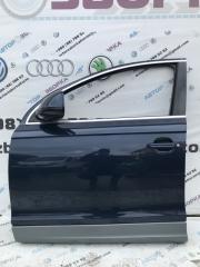 Дверь передняя левая Audi Q7 2013 год