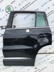 Дверь задняя левая Volkswagen Tiguan 2012 год