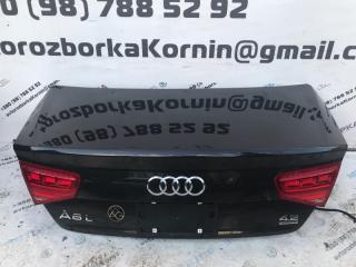 Запчасть крышка багажника задняя Audi A8 2012 год