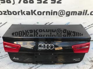 Крышка багажника задняя Audi A6 2012 год