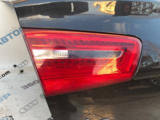 Стоп-сигнал Фонарь задний левый Audi A6 2012 год