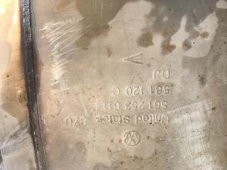 Глушитель Passat 2014 год B7 1.8L