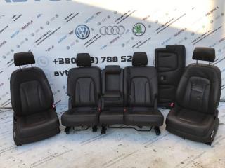 Сиденья салон кожа Audi Q7 2010 год