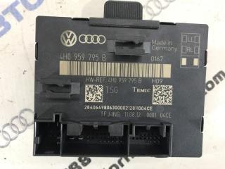 Запчасть блок управления двери Volkswagen Touareg 2012 год