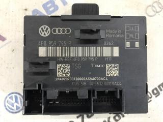 Блок управления дверьми задний правый Audi Q7 2011 год