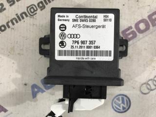 Блок управления светом Volkswagen Touareg 2012 год