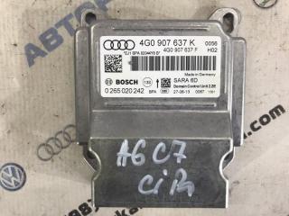 Блок управления подушками безопасности Audi A6 2014 год